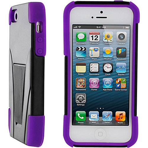 rooCASE T3 Hybrid Armor Case w/ Stand for iPhone SE/5