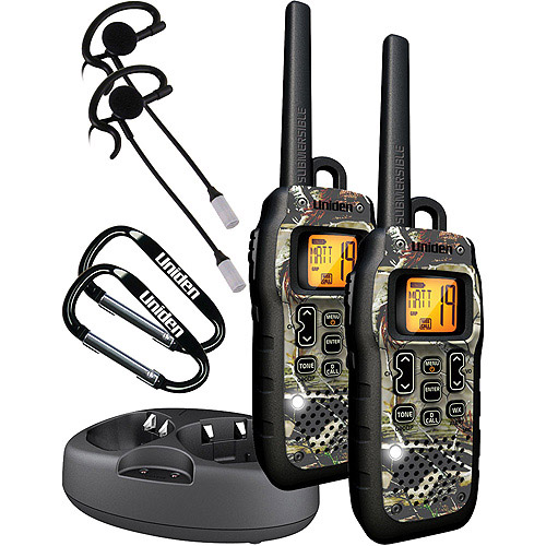 Uniden GMR5099-2CKHS 2-Way Submersible/Floating GMRS/FRS RealTree Radios with 50-Mile Range