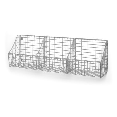 Spanish Wall Basket (Spectrum Wall Mount Triple Storage Basket )