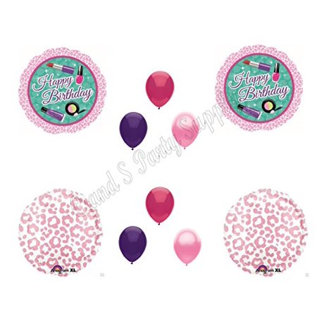 SPA DAY JOJO SIWA TWEEN GIRL Birthday Party Balloons Decoration Supplies Pamper Nails Diva - Spy Decorations