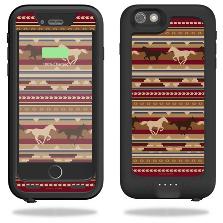 huge selection of 2ba48 8bf1a Skin For Mophie Juice Pack H2Pro for iPhone 6 Plus/6s Plus Case – Western  Horses | MightySkins Protective, Durable, and Unique Vinyl Decal wrap ...