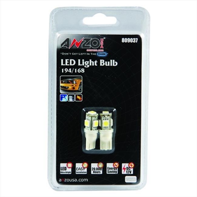 Anzo 809037 LED Light Bulb, White