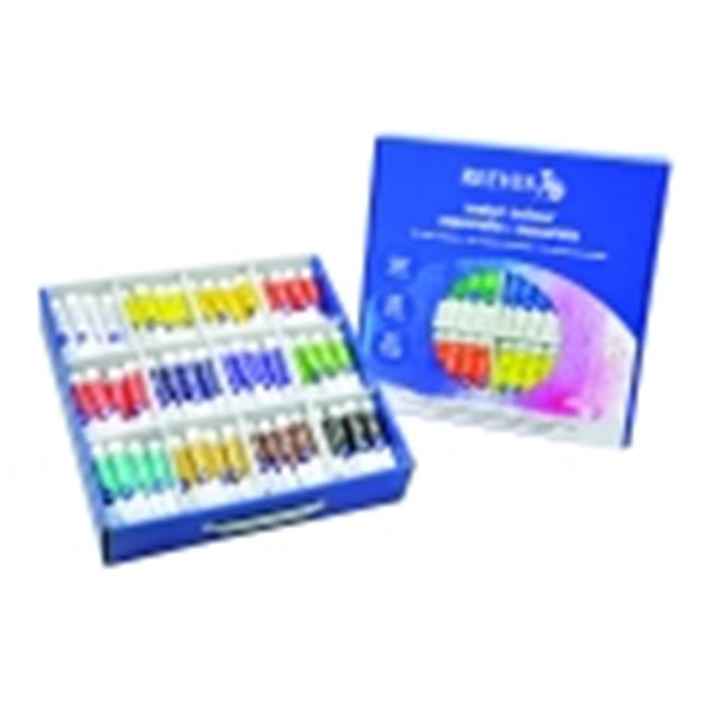 Reeves Non-Toxic Watercolor Classroom Pack, 10 Ml. Tube, Pack - 144