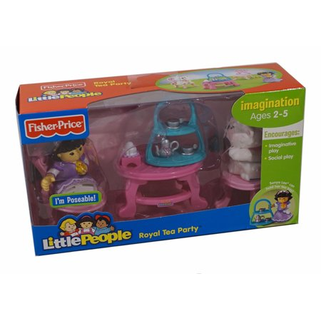 Fisher-Price World of Little People Sonya Lee and Her Royal Tea - Party City Fishers In