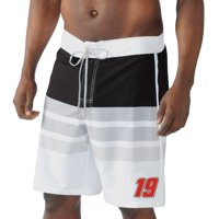 Carl Edwards G-III Sports by Carl Banks Interval Swim Trunk - White