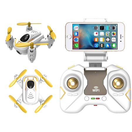 Riviera RC Micro Quad Wi-Fi Drone with 3D App - White