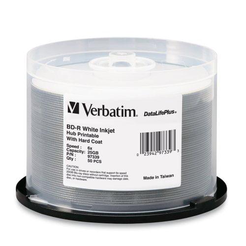 Verbatim DataLifePlus 50-Pack 6x BD-R Spindle