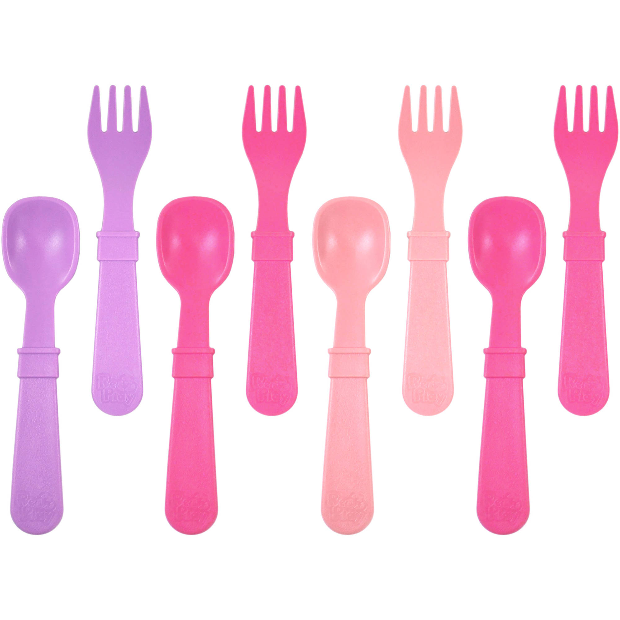 Re-Play 4 Spoons and 4 Forks, BPA-Free