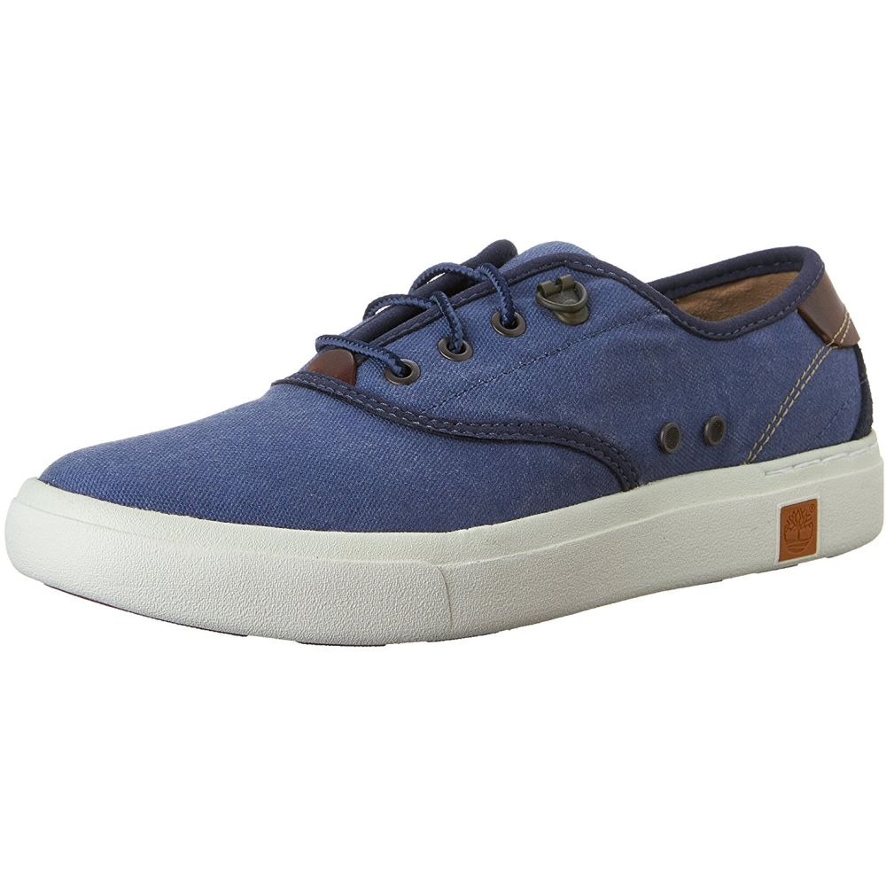 Timberland CA15PO Women's Amherst Oxford Canvas Sneakers, Vintage Indigo, 7.5 M US by Timberland