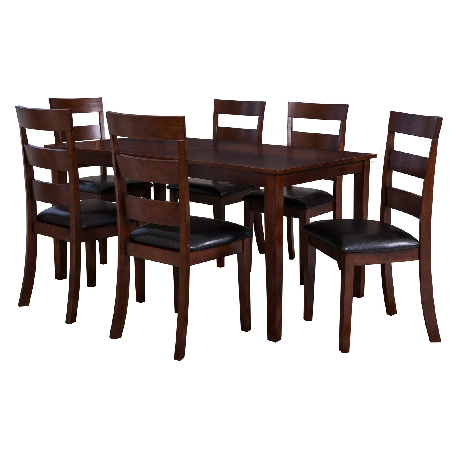 Powell Linville 7 Piece Dining Set, Cherry