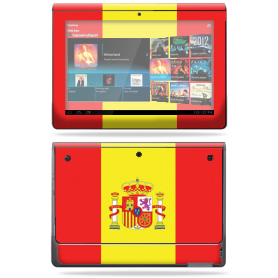 Mightyskins Protective Vinyl Skin Decal Cover for Sony Tablet S wrap sticker skins Argentina Flag