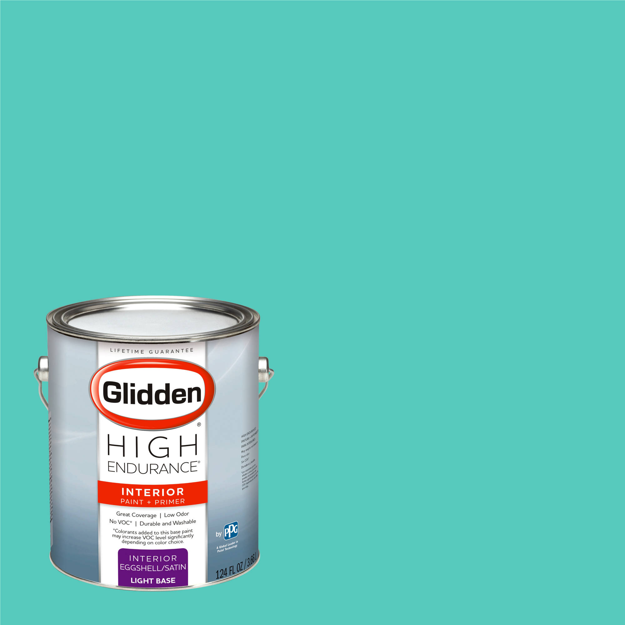 Glidden High Endurance, Interior Paint and Primer, Thai Teal, #53GG 50 360 by PPG Architectural Coatings