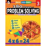 180 Days of Problem Solving for Third Grade: Practice, Assess, Diagnose - eBook