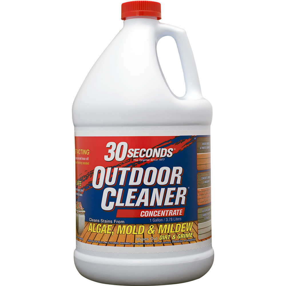 30 Seconds Algae, Mold, and Milder Concentrated Outdoor Cleaner, 1 gallon