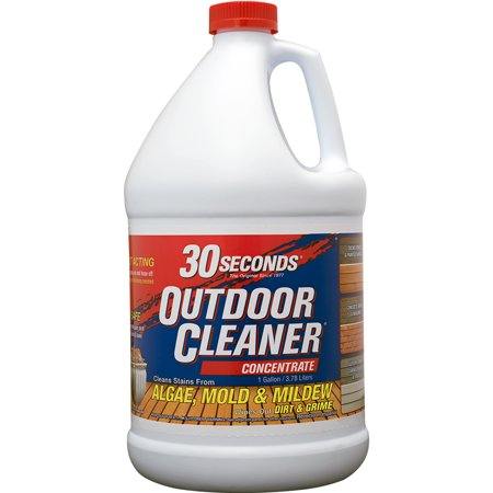 30 seconds outdoor cleaner for algae mold and mildew 1 - Can you swim after putting algaecide in pool ...