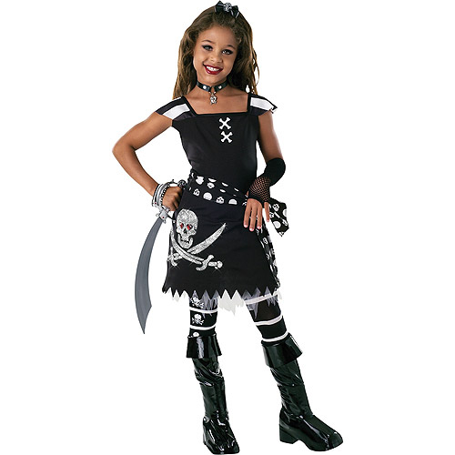 Scar-let Pirate Child Halloween Costume