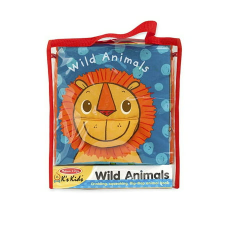 Melissa   Doug Soft Activity Book Wild Animals