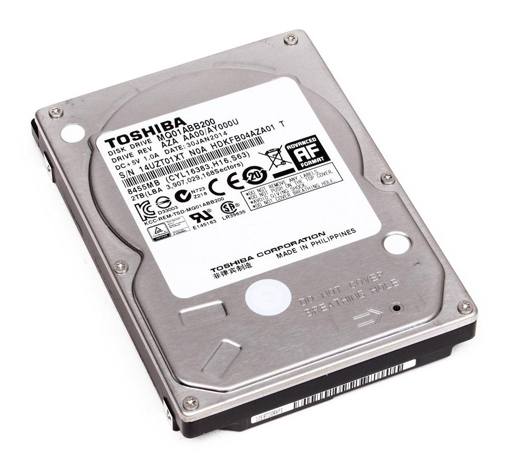 "Toshiba 2TB 5400RPM 2.5"" Hard"