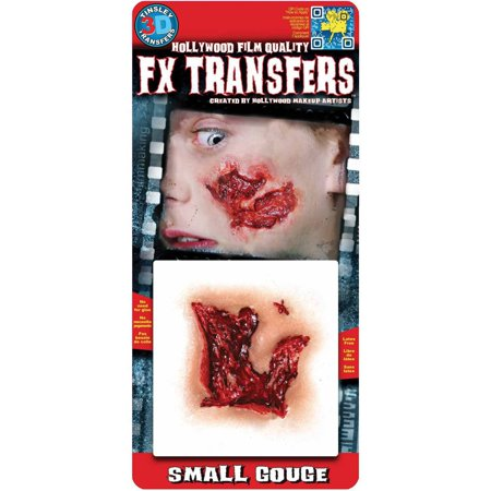 Transfers Small Gouge 3D FX Adult Halloween Accessory