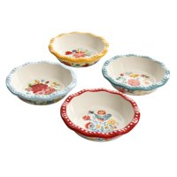 The Pioneer Woman Floral Medley 5.5-Inch Mini Pie Pans, 4-Pack