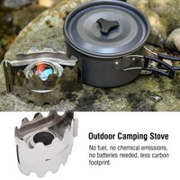 EOTVIA Alcohol Tray,Outdoor Camping Stove with Alcohol Tray Ultralight c for Picnic Hiking