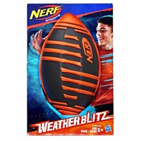 Nerf Sports Weather Blitz Football (black), for Kids Ages 5 and Up