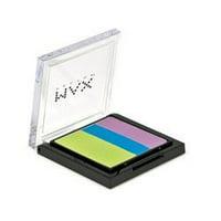 Max Factor Eyeshadow Trio's, Various Colors, 190 Metalicious
