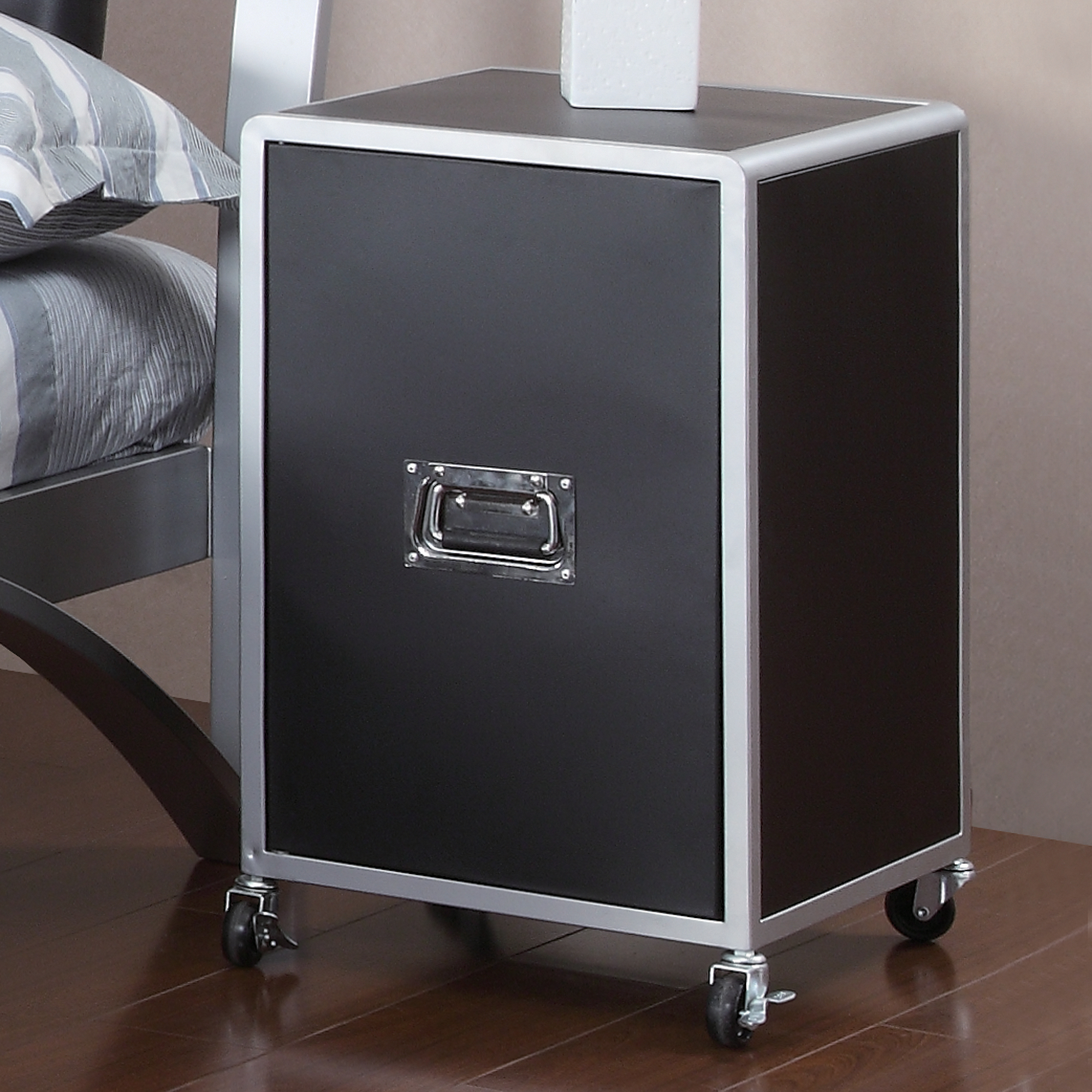 Coaster LeClair Cabinet, Black by Coaster of America
