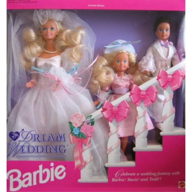 Walmart Wedding Gift Ideas: Barbie Dream Wedding Gift Set W Barbie, Stacie & Todd
