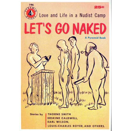 Halloween Naked Pics (Let's Go Naked POSTER Movie Retro Book Cover Mini)