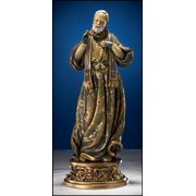 "St. Pio ""Old World"" Statue, 9"""