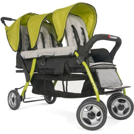 Stroller Green Bubbles - Foundations Trio Sport Tandem Stroller
