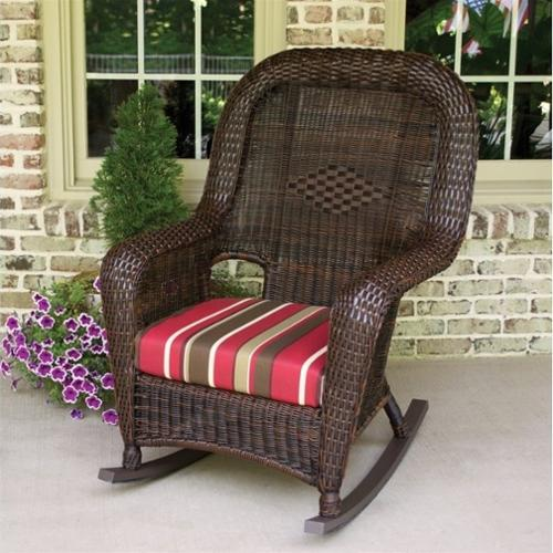 Tortuga Lexington Rocking Chair-Tortoise and Rave Lemon