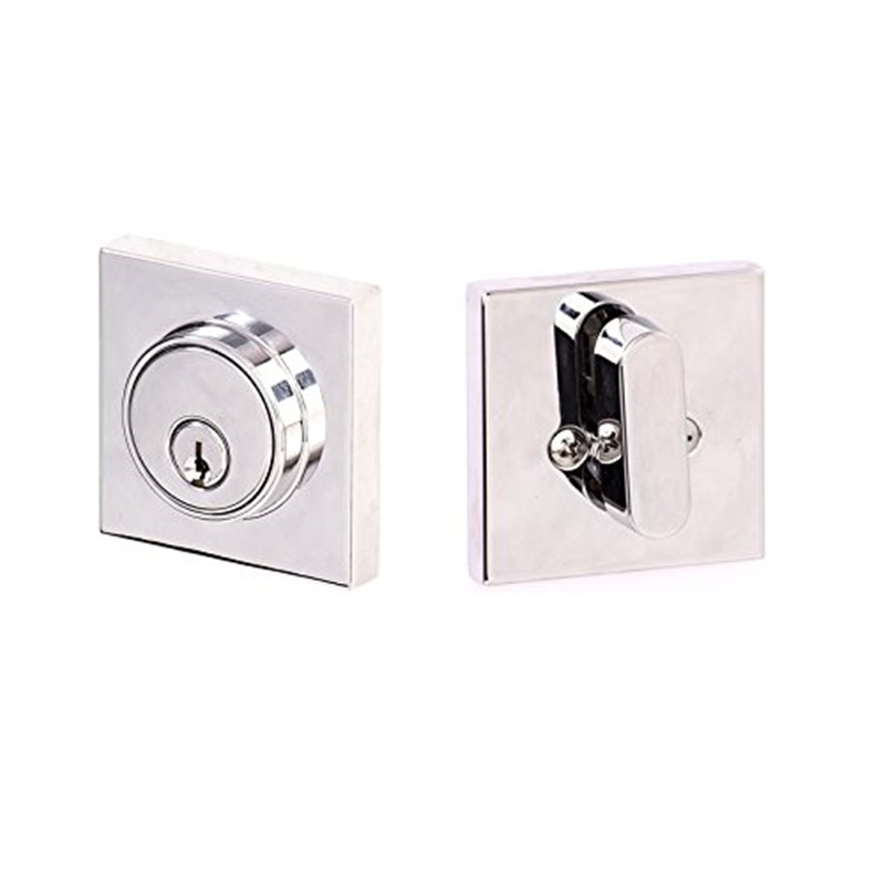 Sure-Loc Hardware BS101/DB201-SMD 26 Basel Passage Lever with Keyed Deadbolt