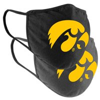 Iowa Hawkeyes Colosseum Adult Logo Face Covering 2-Pack