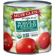 Muir Glen Organic Whole Peeled Tomatoes - Case of 6 - 102 oz
