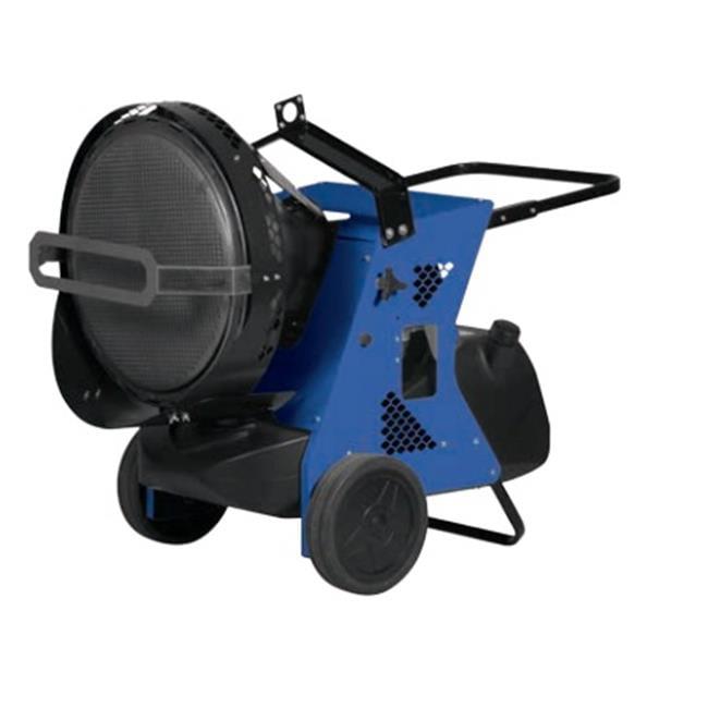 MTM Heat 06VA201 Fire155 Infrared Portable Heater, Blue