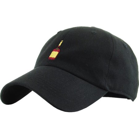 Henny Bottle Dad Hat Baseball Cap Polo Style Adjustable Flexfit Nike Adidas City Hunter (Nike Pins)