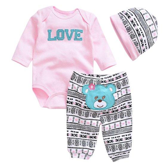 3f4b103b4 Mosunx Newborn Baby Clothes Reborn Baby Girl Doll Clothes NOT ...