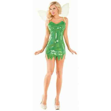 Mischievous Green Fairy Adult Costume - Small](Adult Green Fairy Costume)