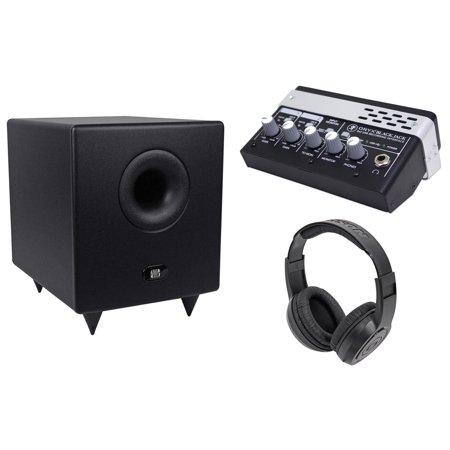 Presonus Temblor T8 200W 8  Powered Studio Subwoofer Mackie Interface Headphones