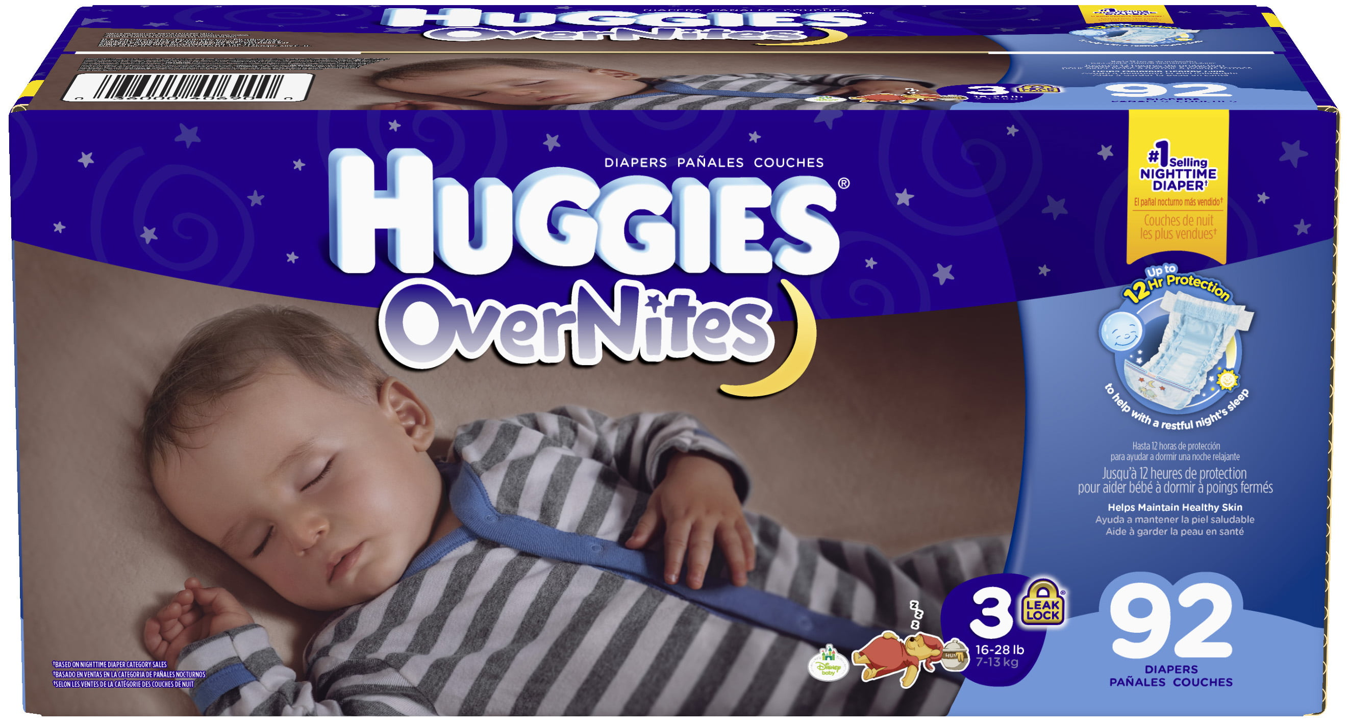 Huggies OverNites Diapers (Choose Size and Count) by HUGGIES