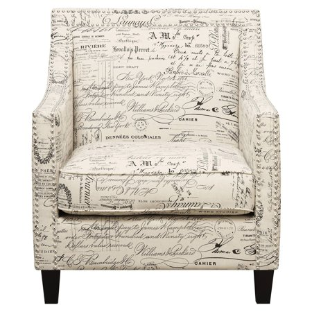 Picket House Emery Chair in French Script