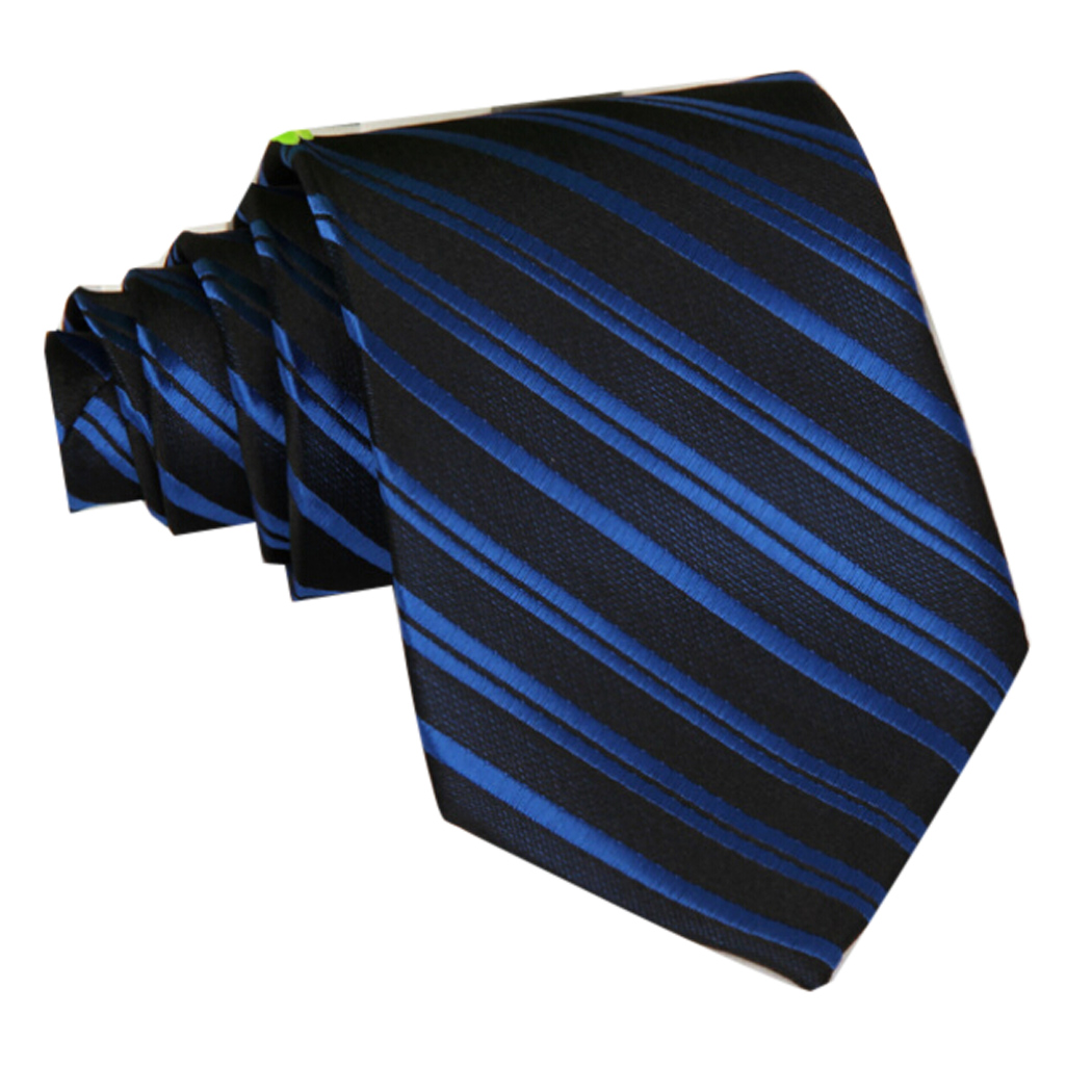 Mens Stripe Ties, Coxeer Casual Business Necktie Tie for Wedding Evening Party