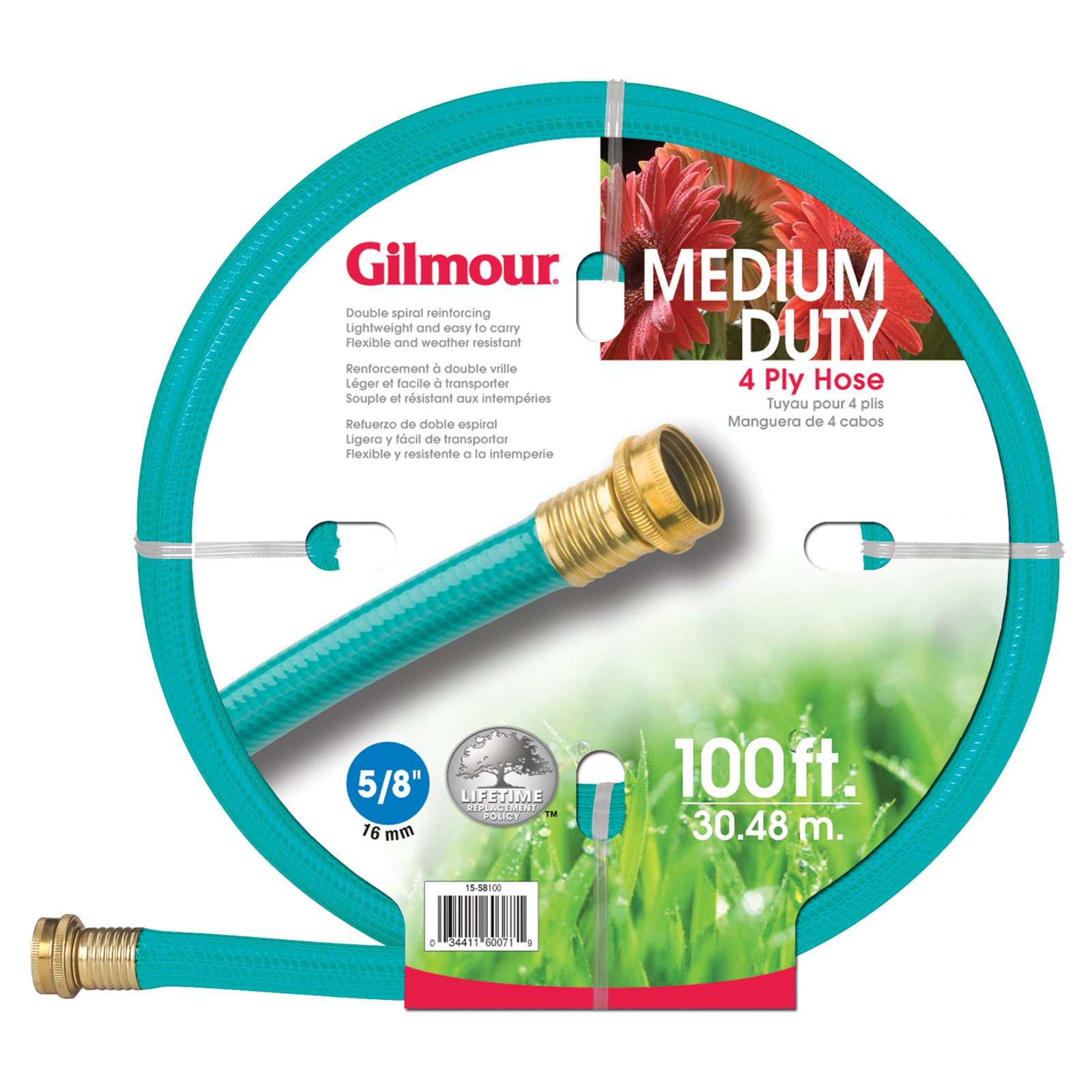 Gilmour 4 Ply Medium Duty Garden Hose by Fiskars Brands Inc