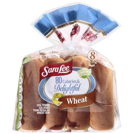 Sara Lee Low Calorie Hot Dog Buns
