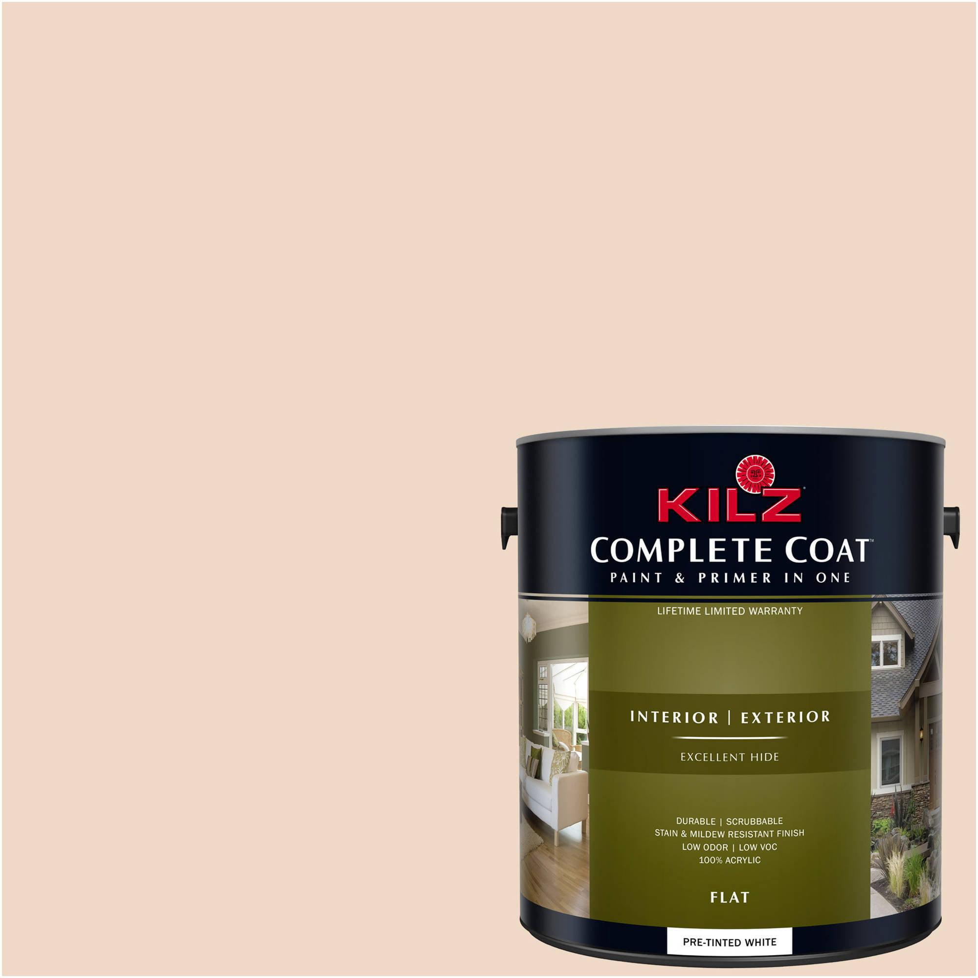 KILZ COMPLETE COAT Interior/Exterior Paint & Primer in One #LJ110 Almond Cake