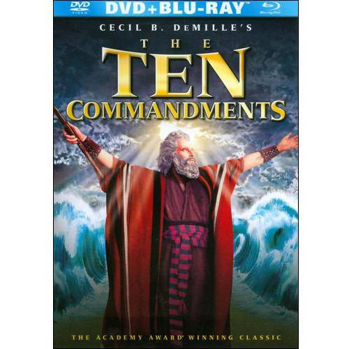 TEN COMMANDMENTS (BLU-RAY/DVD COMBO/1956/2 DISC)