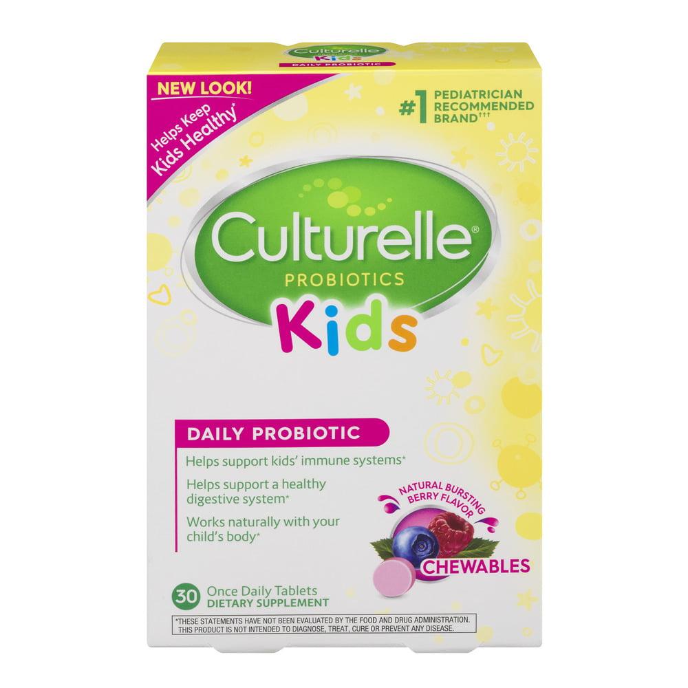Culturelle Probiotic Kids Daily Probiotic - 30 CT