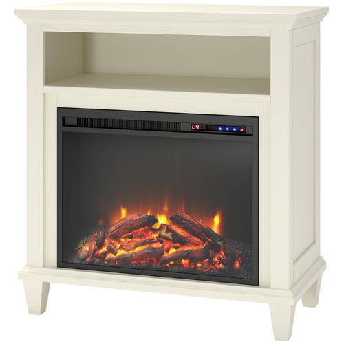 """Altra Ellington 32"""" TV Stand with Fireplace, Multiple ..."""